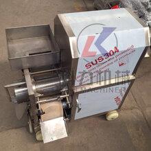 小型魚肉分離機,擠魚丸機器,自動加工魚肉分離機圖片