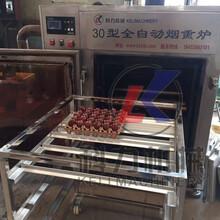 烧鸡烤鸭熏烤机自动熏肠机器厂家批发价格图片