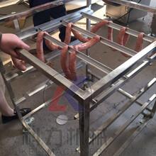 熟食加工流水线设备全自动烟熏炉图片