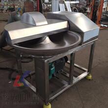 全自動不銹鋼斬拌機機械加工肉類果蔬類斬拌機高效節能圖片