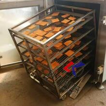 红肠腊肠熏蒸机,小型红肠腊肠熏蒸机,熏蒸机多少钱一台图片