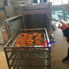 供应全自动烟熏炉豆干烘机烟熏炉红肠烟熏炉腊肉烟熏炉厂家图片