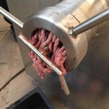 猪肉羊肉绞肉机,不锈钢冻肉绞肉机,诸城科力机械厂家批发图片