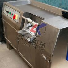 350型切丁机宫保鸡丁专用肉丁机微冻肉类切丁机不锈钢材质节省人力图片