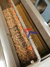 毛辊去皮清洗机专业厂家花生去泥清洗机食品加工机械图片