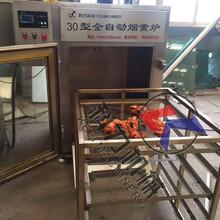 哈尔滨红肠烟熏炉,烟熏炉设备多少钱,诸城科力机械直销图片