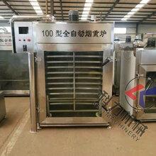 热销产品湖南豆干烟熏设备烟熏上色一体机节能环保烟熏炉图片
