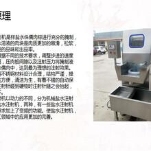 鸡鸭盐水注射机,自动鸡鸭盐水注射机,盐水注射机用途图片