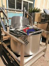 蔬菜丁脱水甩干机,自动蔬菜丁脱水甩干机,脱水甩干机图片