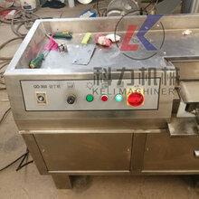 全自动切丁机冻肉切丁机微冻肉切丁机厂家直销大型全自动冻肉切丁机鲜肉切丁机图片