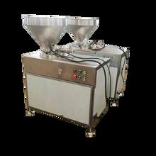 双管香肠液压灌肠机全不锈钢液压灌肠机批发图片