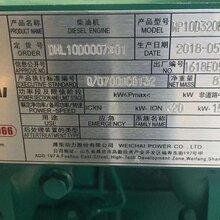 潍柴WP10D320E200发电型柴油机配套300kw发电机专用柴油机图片
