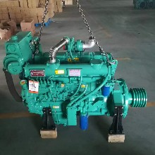 辽宁营口厂家直销6105ZC船用柴油机125马力柴油机带螺旋桨图片