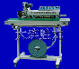 大连胜龙DRSC-1010色带印字连续抽气封口机
