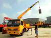 可以上蓝牌的随车吊东风福瑞卡长兴3吨随车吊环卫车厂家