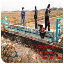 混凝土道路摊铺机使用三人行机械省劲省心混凝土振动梁价格图片