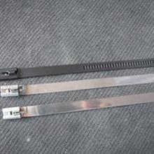 定制不锈钢包箍电线杆固定标牌专用扎条卡箍喉箍价格冀航电力