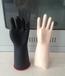 江苏五指橡胶手套电工专用绝缘手套绝缘橡胶手套价格冀航制造