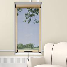意美达A6-2铝合金纱窗定制防蚊隐形纱窗图片