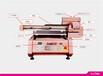 安徽合肥金属标识标牌打印机uv平板打印机金属打印机多少钱一台