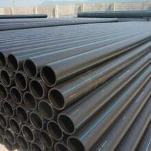 厂家直销HDPE110给水管PE100管材PE给水管价钱饮水管供水管