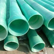 玻璃钢夹砂管玻璃钢管电缆保护管玻璃钢电力管夹砂管
