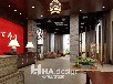 武汉写字楼办公室装修报价装修效果图-香港汇艺装饰