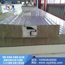 钰佳环保专业生产岩棉夹芯板\\彩钢夹芯板\\泡沫夹芯板等外墙保温板材图片