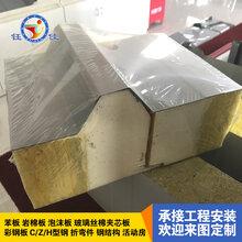 厂家直供净化板\聚氨酯保温板\聚氨酯岩棉板\岩棉夹芯板等各种外墙保温板,欢迎咨询图片