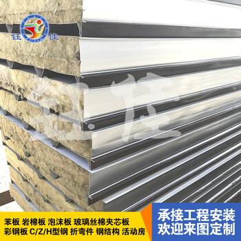 岩棉保温板\岩棉夹芯板\岩棉彩钢板\岩棉板的保温性能和防火性能