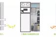 济南兰舍柜式新风系统,三层过滤纯净空气,无二次污染可放心使用
