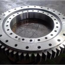 徐州回转支承厂家加工定制360度滚动轴承齿轮回转轴承外齿式回转支承转盘轴承图片
