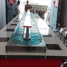 转转锅小火锅设备串串香自助旋转小火锅设备图片