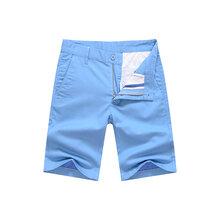 休闲短裤男士中裤5分五分裤修身夏季弹力薄款沙滩裤潮