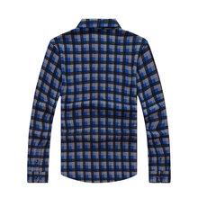 春秋款中年男士长袖t恤衫中老年爸爸装翻领大码polo男套头针织衫