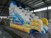 水上乐园设施充气滑梯充气玩具水上闯关