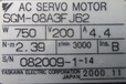 安川SGM-08A3F-J62伺服电机维修