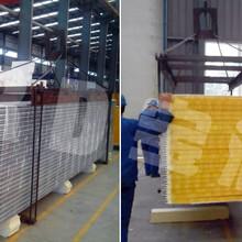 聚氨酯封边岩棉复合板厂家聚氨酯封边玻璃丝棉复合板生产图片