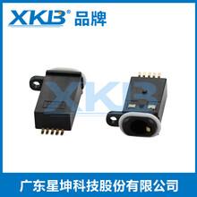 防水IP67耳机插座贴片带防水圈插座