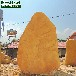 天津黃臘石小區黃蠟石、公園觀景石、門面園林石-
