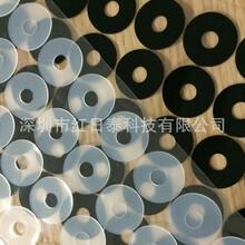 专业供应环保硅胶垫圆形硅胶垫片环保防震橡胶脚垫
