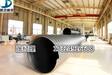 500钢带增强PE螺旋波纹管埋地排水输送管道