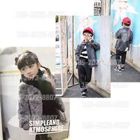韩国时尚童装品牌,韩国品牌童装进货渠道,女中大童童装外套,广州童装货源批发图片
