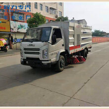 重慶12方掃路車圖片,多功能掃路車