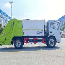 懷化多利卡壓縮垃圾車價錢,垃圾運輸車