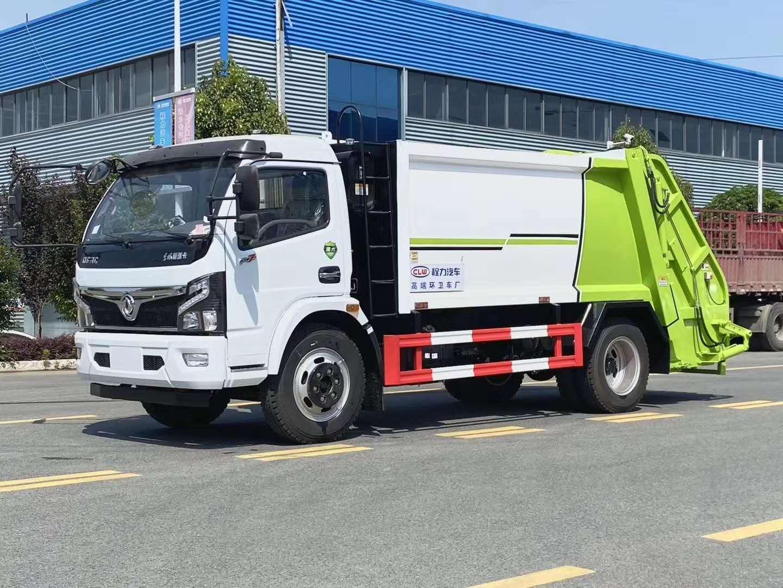 小區垃圾壓縮車/國六壓縮垃圾車全國送車上門