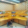 中岛木质展示柜超市水果蔬菜货架实木展示架便利店水果堆头