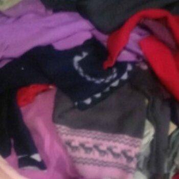 出售大量純毛毛衣,腈綸毛衣,二手毛衣等