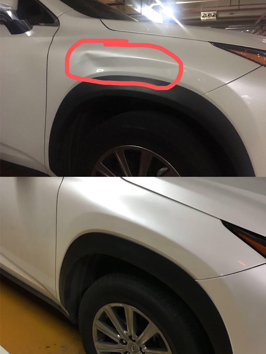 深圳汽车凹陷无痕修复免钣金三木汽车凹陷车凹痕修复