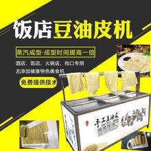 山东鲜豆家酒店专用油皮机设备直销图片